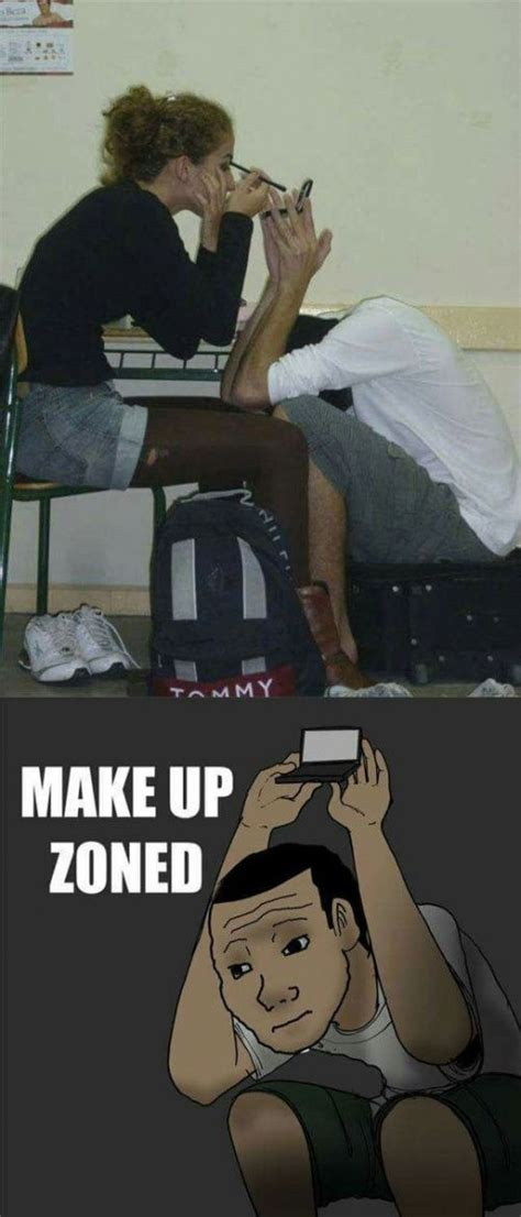 Makeup Zone | Funny pictures, Friendzone, Really funny