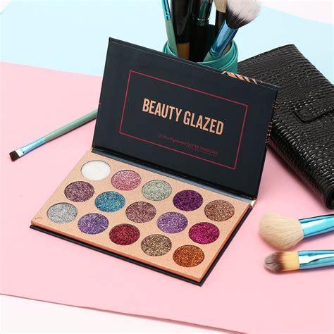 makeupzone  BEAUTY GLAZED Sombra Paleta 15 Ultra ...