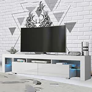 MAKPON   Mueble de TV  200 cm, luz Brillante , Color ...