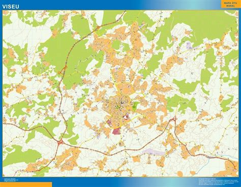 Malaga Codigos Postales mapa magnetico | Digital Maps ...