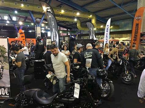 Málaga consolida el Salón de la Moto con más de 15.000 ...