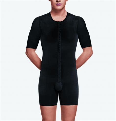 Male Compression garment body suit with arms   Recova