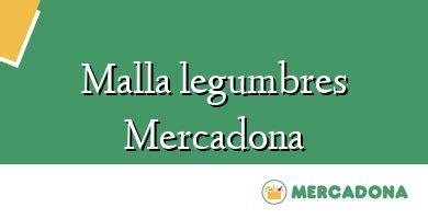 Malla Legumbres Mercadona 】 ֍ Opiniones Y Precio