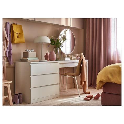 MALM Dressing table, white, 120x41 cm   IKEA