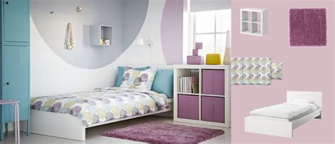 MALM white bed with EXPEDIT white shelving unit and IKEA ...