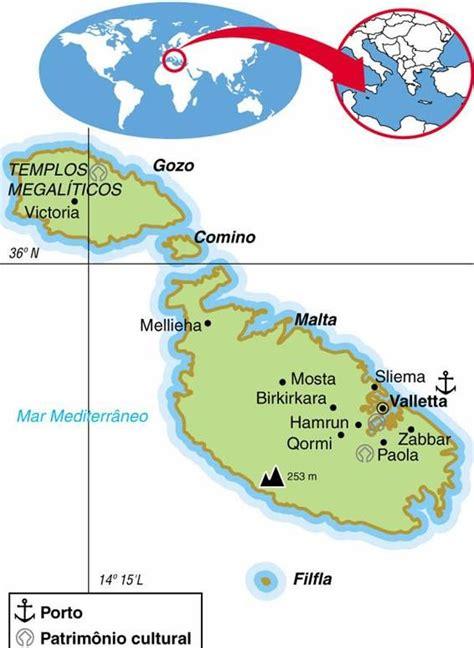 Malta | Aspectos Geográficos e Socioeconômicos de Malta ...