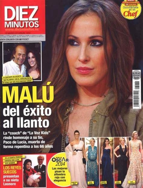 Malú, del éxito del llanto en Diez Minutos   Revista Diez ...