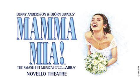 Mamma Mia! The Musical at the Novello Theatre   Musical ...