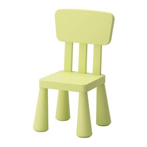 MAMMUT Children s chair   indoor/outdoor/light green   IKEA