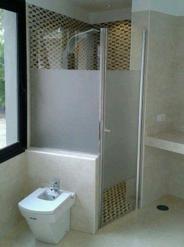 Mampara de ducha con vinilo efecto arenado   Duchas con ...
