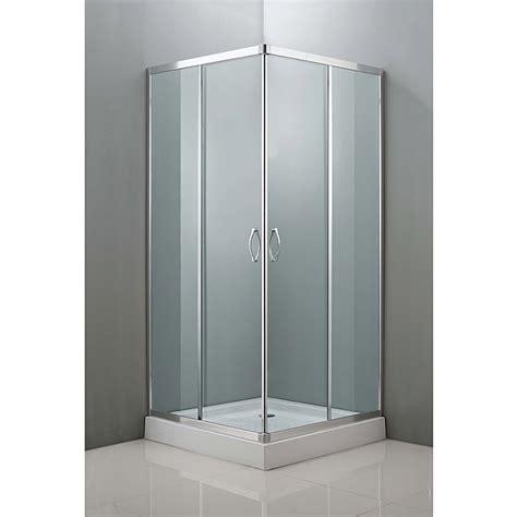 Mampara de ducha esquinera Kilian  L x An x Al: 80 x 80 x ...