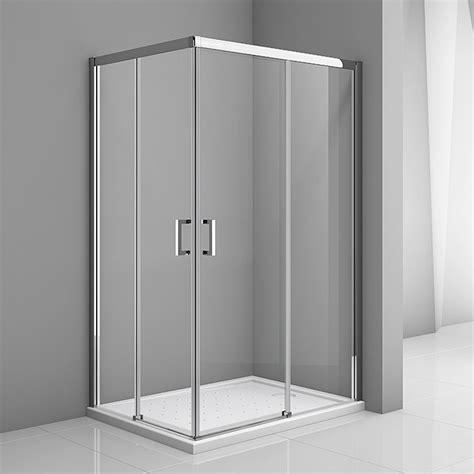 Mampara de ducha esquinera Skyler  L x An x Al: 70 x 100 x ...