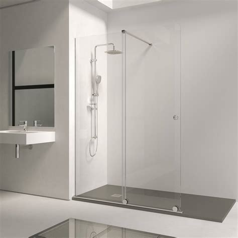 Mampara de ducha frontal abierta Bron de Torvisco 1 fija ...