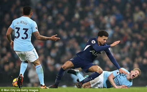 Man City boss Pep Guardiola hits out at Dele Alli tackle ...