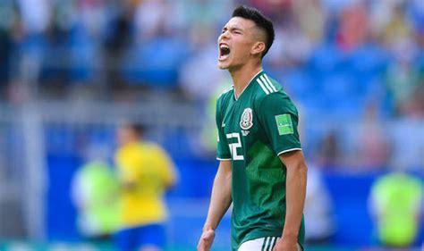 Man Utd transfer news: £35m bid for Mexico World Cup star ...