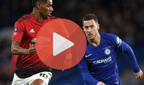 Man Utd v Chelsea LIVE STREAM: How to watch Premier League ...