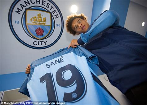 Manchester City s Leroy Sane comes from a sporting family ...