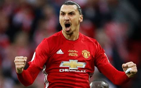 Manchester United forward Zlatan Ibrahimovic vows to  come ...