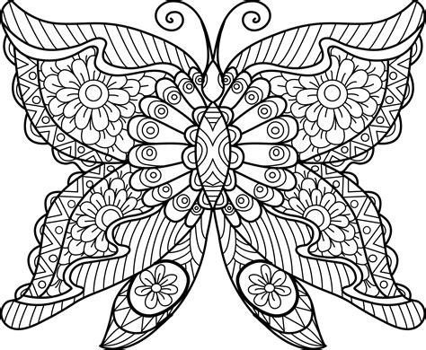 Mandala Mariposa 01 • IMPRIME MANDALAS