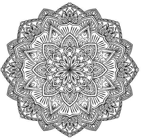 Mandala to download in pdf 1   M&alas Adult Coloring Pages