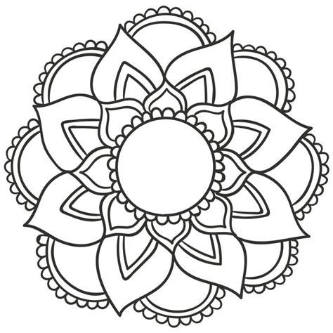 Mandalas De Flores Para Pintar   Vernajoyce Blogs