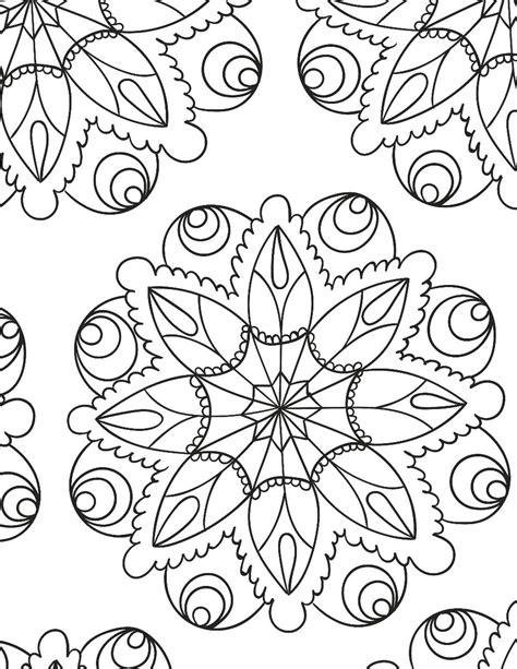 Mandalas Para Colorear Por Adultos Relajarse Dibujando ...