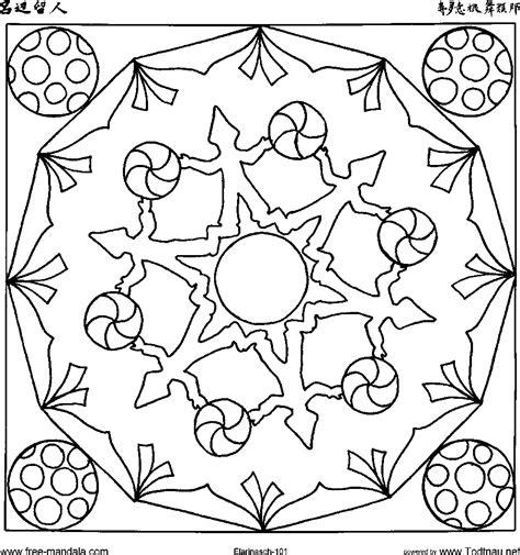 Mandalas Para Pintar: mandala niños