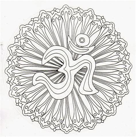 Mandalas para pintar   Mantras, Mandalas hindues, Budismo ...