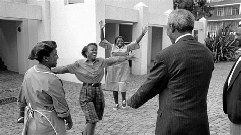 Mandela: A real man of the people, even in prison ...