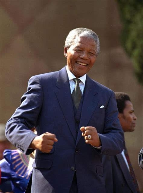 Mandela becomes president of South Africa in 1994   NY ...