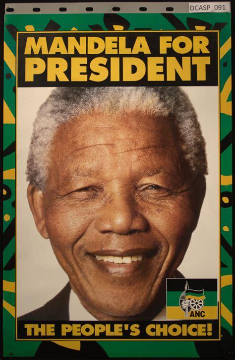 Mandela for president.