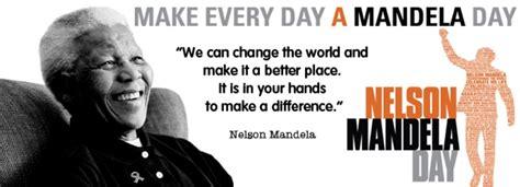 Mandela Foundation Announces 15 Ways To Celebrate Mandela Day