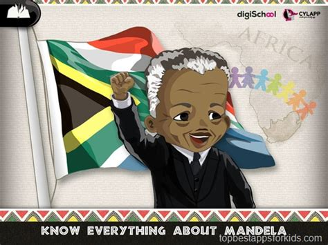 Mandela Story and Games | best kids apps | iPad iPhone