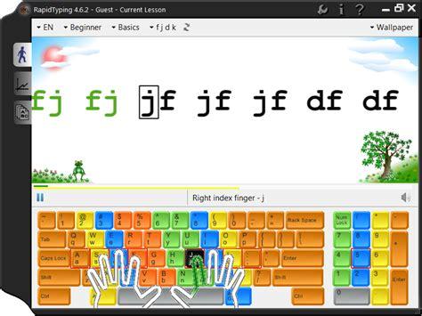 Manejo del Teclado con Rapid Typing   Computación para ...