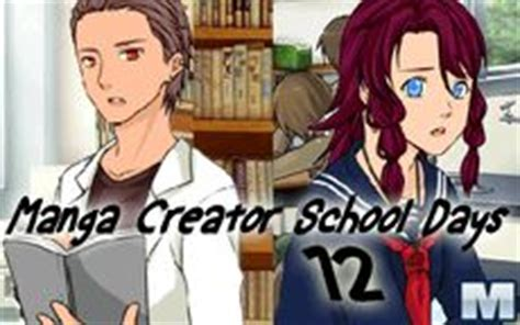 Manga Creator School Days 12   Macrojuegos.com