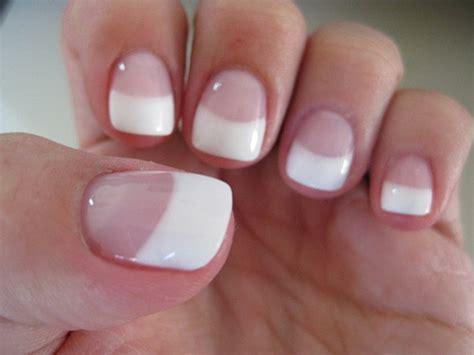 manicura francesa uñas cortas   Decoracion de uñas