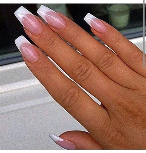 Manicura Uñas Largas Frances   uñas francesas decoradas