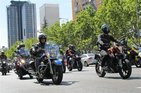 Manifestaciones de Motos en Barcelona y Madrid   Moto1Pro