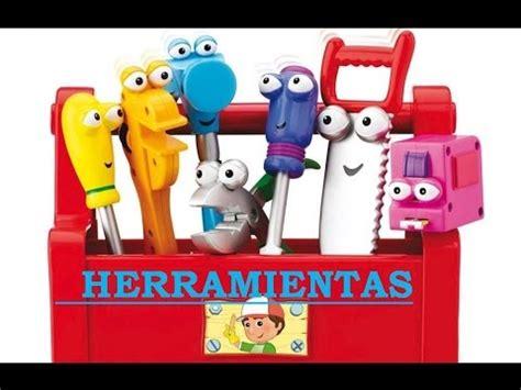Manny Manitas. Vídeo de HERRAMIENTAS para NIÑOS. Mi papa y ...