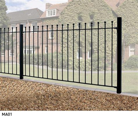 Manor Metal Fencing | Buy 4ft High Metal Garden Fence ...