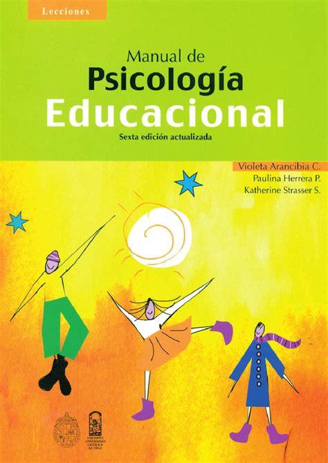 Manual de psicologia educacional by Dra Esperanza García ...