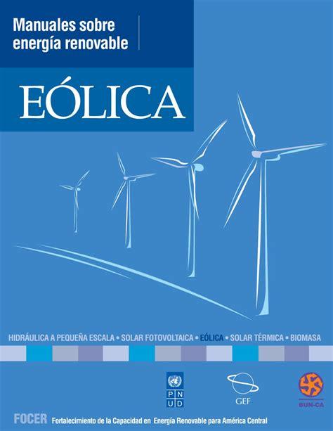 Manual Energá Eólica by Accion Sustentable   Issuu