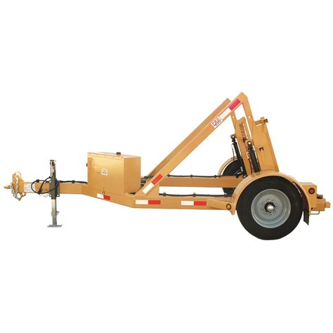 Manual, Single Utility Cable Reel Trailer