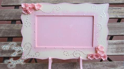 Manualidades   Como decorar un marco de fotos con flores ...