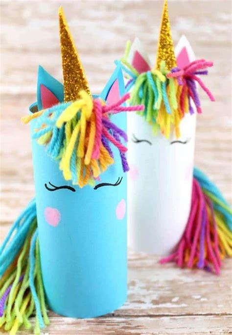 Manualidades: cómo preparar unicornios con rollos de papel ...