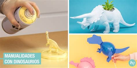 Manualidades con dinosaurios: ideas fáciles y originales