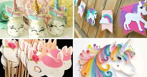 Manualidades con unicornios   10 ideas para hacer ...