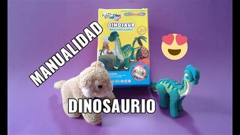 Manualidades de Dinosaurios fáciles para niños JUMPING ...
