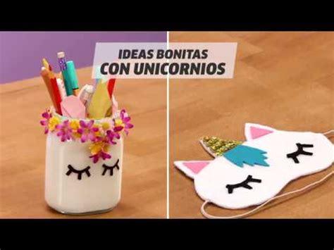 Manualidades de unicornios | DIY | VIX   YouTube