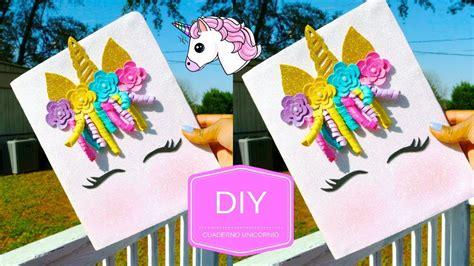 MANUALIDADES fáciles cuaderno unicornio con fomi/goma Eva ...